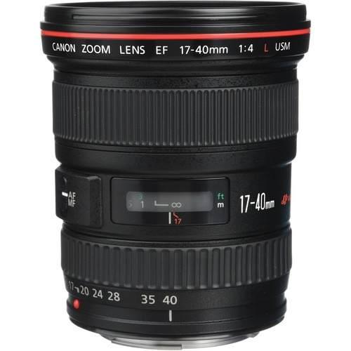 Lente Canon EF 17-40mm -  F/4L USM *