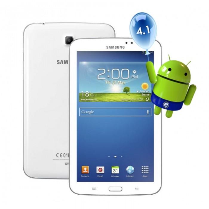 "Tablet Samsung Galaxy Tab 3, 7"" Polegadas, 8GB, Android 4.1 Dual Core, 1.2 Ghz, T210, Wi-Fi, Câmera Frontal e Traseira"