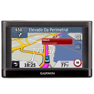 GPS Garmin Nuvi 42, Tela 4.3´, Localização de Radares, Cobertura de 98.8% das Cidades Brasileiras