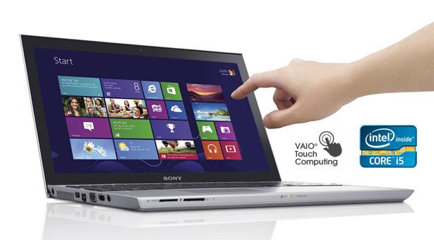 """ULTRABOOK SONY SVT15-117CXS Intel Core i7 2.0GHZ (3ª Geração), Memória 8GB, HD 1TB + SSD 32GB, Tela LED 15"""" TOUCHSCREEN , FULL HD"""