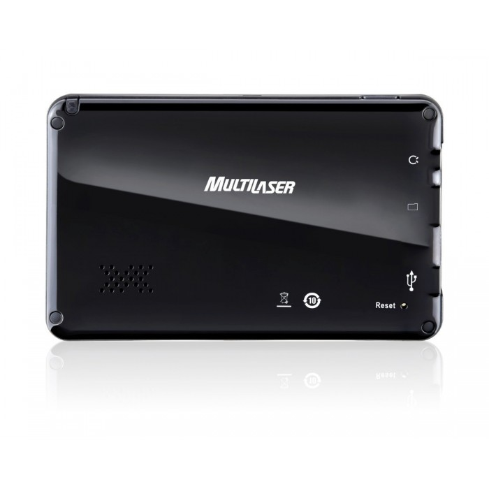 GPS Multilaser Tela 7,0´ Com TV DIGITAL, Alerta de Radar Fixo + Mapas 3D (GP015)