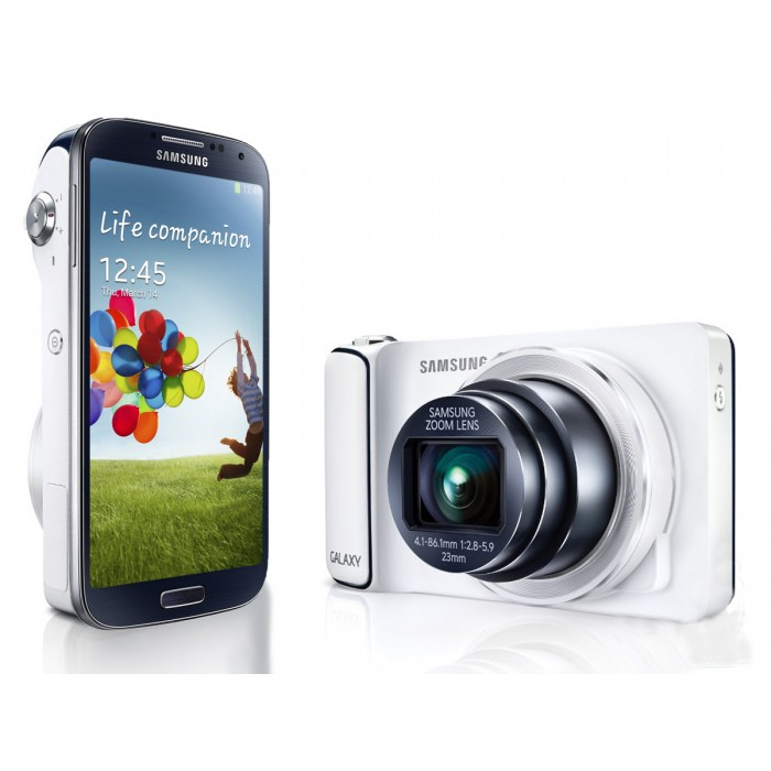 Celular Samsung Galaxy S4 Zoom Android 4.2, Câmera 16MP, 10x Zoom Óptico, Tela 4.27´
