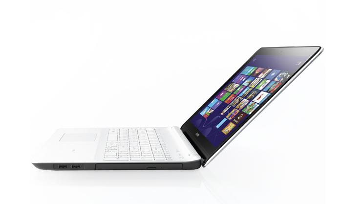 "Notebook Sony VAIO Fit E SVF15 - Ultrafino, Intel Core i5, Memória 8GB, HD 750GB, Bluetooth 4.0, DVD-RW, Windows 8, Tela LED 15.5"" (seminovo)"