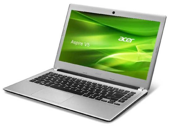"Notebook ACER Ultrafino V5-471G-53334G50 Intel Core i5 (3ª Geração), Memória 4GB, HD 500GB, tela LED 14"", Placa de vídeo 2GB, Windows 8"