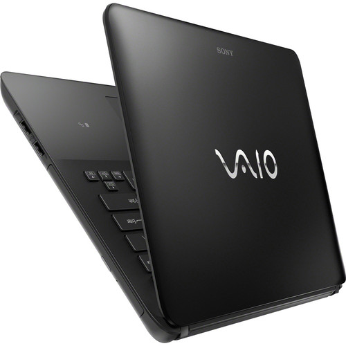 Notebook Sony Vaio Ultrafino SVF14-212CXB Intel Core i3 (3ª Geração), mem. 4GB, HD 500GB, DVD-RW, Tela LED 14´ Windows 8 (PRETO)