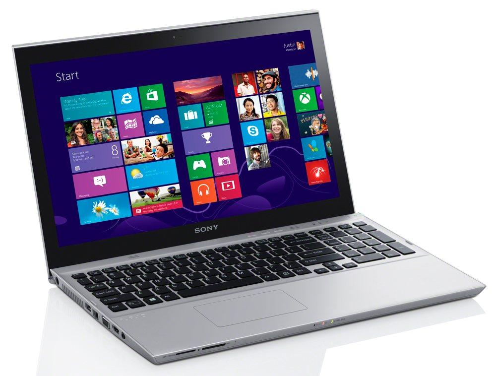"ULTRABOOK SONY SVT15-114CXS Intel Core I5 (3ª Geração) Memória 4GB, HD 750GB + SSD 32GB, USB 3.0 Tela LED 15"" TOUCHSCREEN"