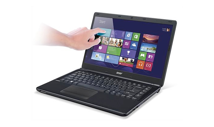 Notebook Acer Aspire E1-470P-6659 - Intel Core i3, Memória 4GB, HD 500GB, HDMI, Tela LED TouchScreen 14""