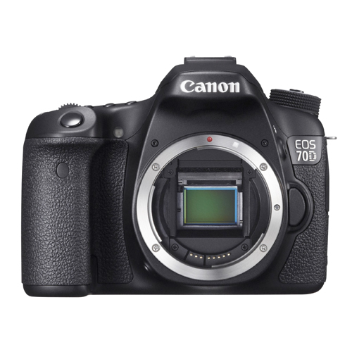 Câmera Digital Canon EOS 70D (Somente corpo) - Dual Pixel, 20.2 MP, Sensor CMOS, Vídeo Full HD, DIGIC 5+, 7 FPS, Wi-Fi, Tela Rotativo 3