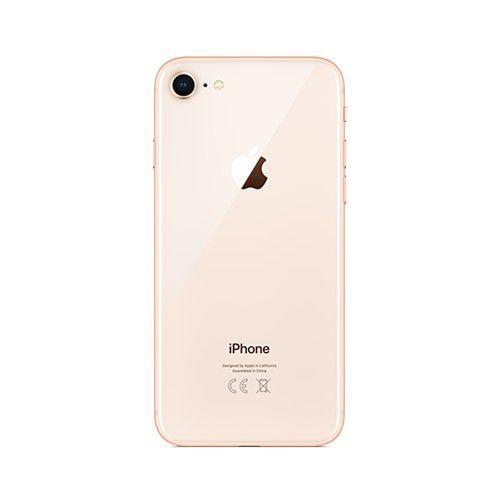 """Apple iPhone 8 - 256GB, Vídeos 4K, Câmera com Estabilização Óptica, Resistência à água e poeira, Retina HD de  4.7"""" True Tone - Dourado / Gold"""