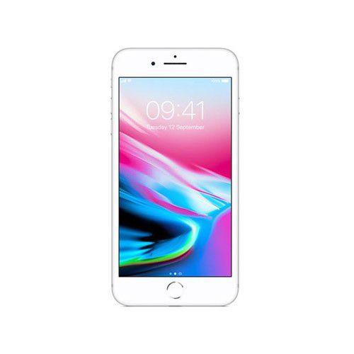 """Apple iPhone 8 Plus - 64GB, Vídeos 4K, Câmera com Zoom e Estabilização Óptica, Resistência à água e poeira, Retina Full HD de  5.5"""" True Tone - Prateado / Silver"""