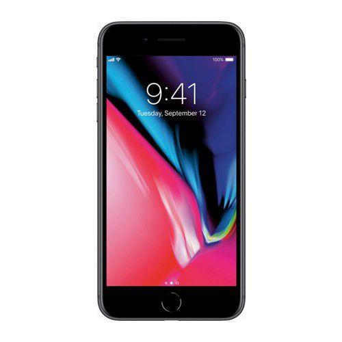 """Apple iPhone 8 Plus - 64GB, Vídeos 4K, Câmera com Zoom e Estabilização Óptica, Resistência à água e poeira, Retina Full HD de 5.5"""" True Tone - Preto / Space Gray"""