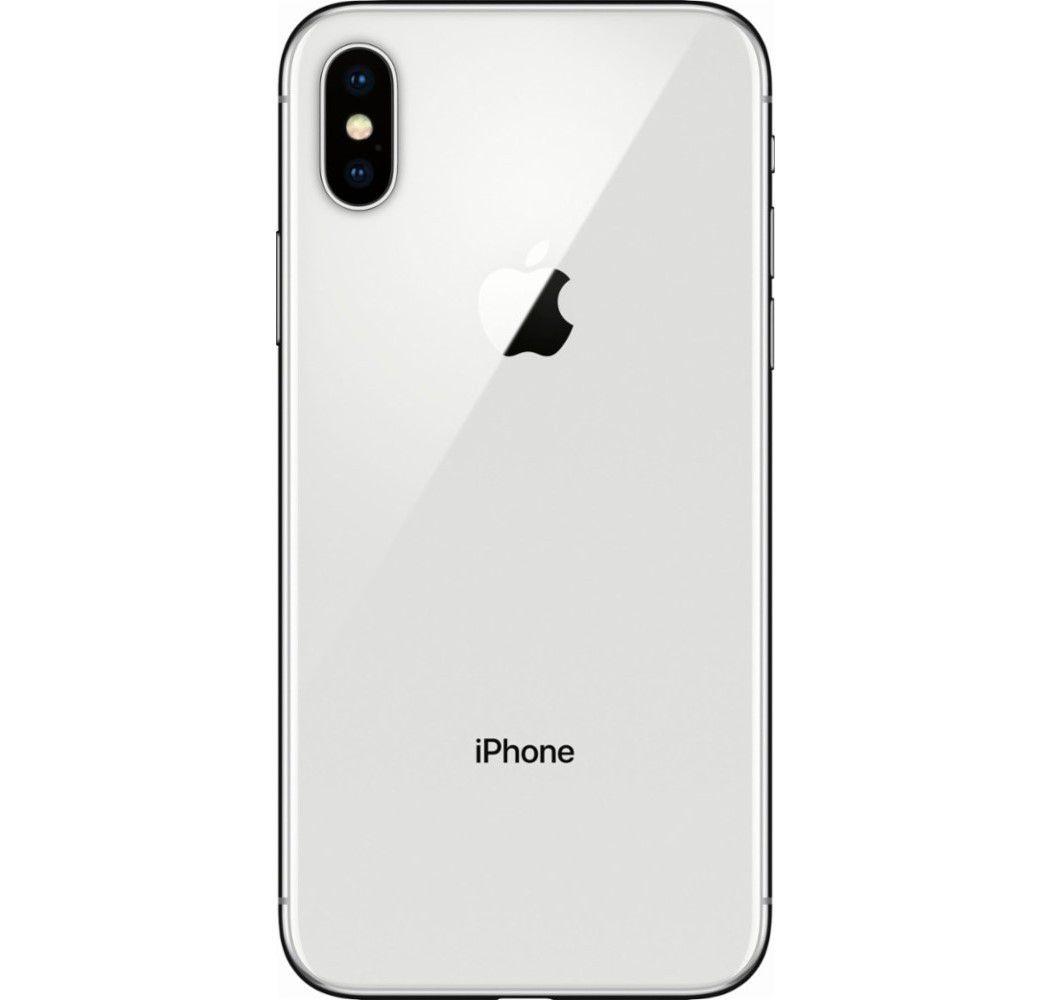 "Apple iPhone X - 64GB, Tela Super Retina de 5.8"", Face ID, Câmera Dupla de 12MP, Recarga sem fio - Prata"