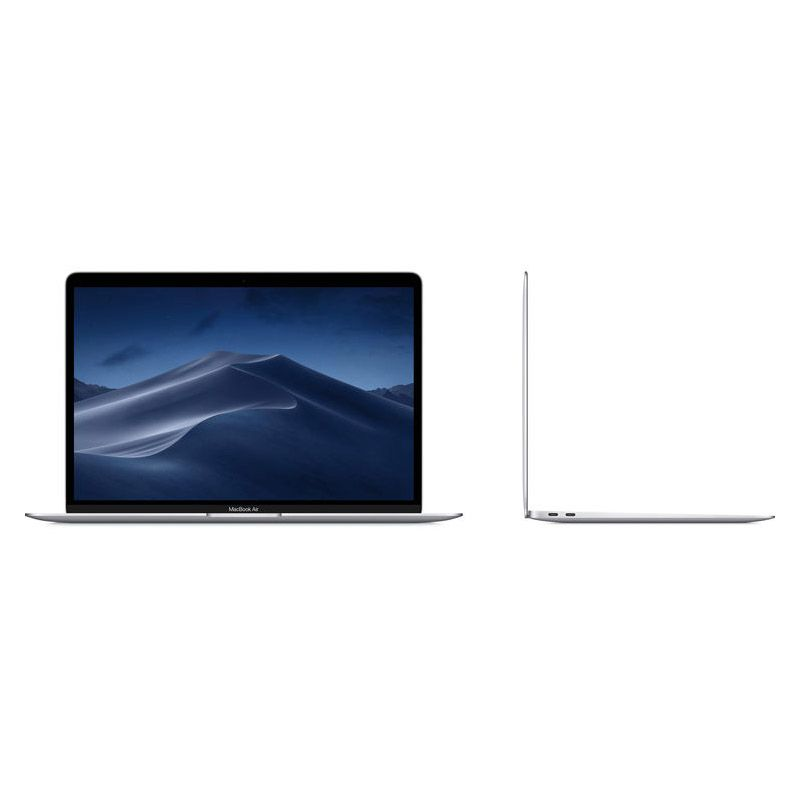 "Apple Macbook Air 2018 Intel Core i5, SSD 128GB, 8GB, Tela Retina 13"", Touch ID - Prata MREA2  - Beta Informática"