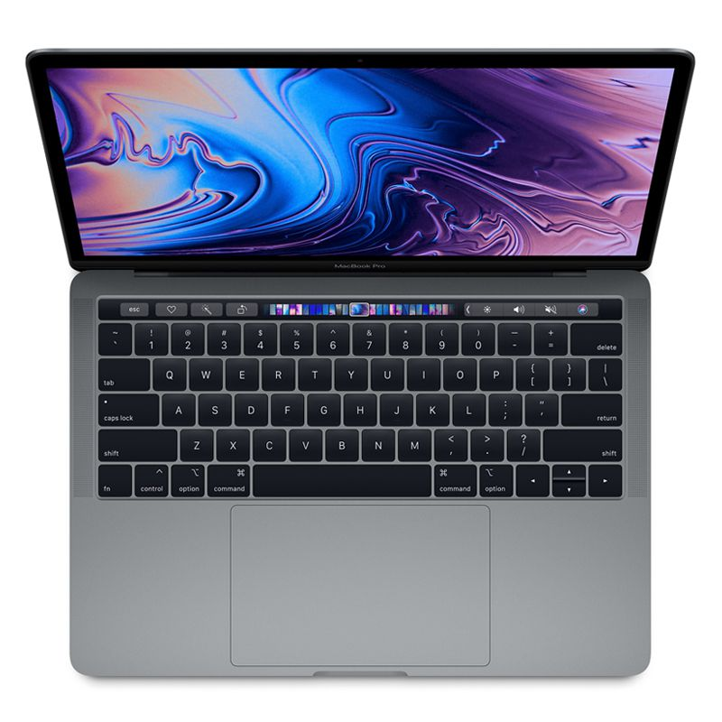 "Apple MacBook Pro 2019 Intel Core i5 1.4GHz, 8GB, SSD 256GB, Touch Bar, Retina 13,3"" - Cinza Espacial MUHP2"