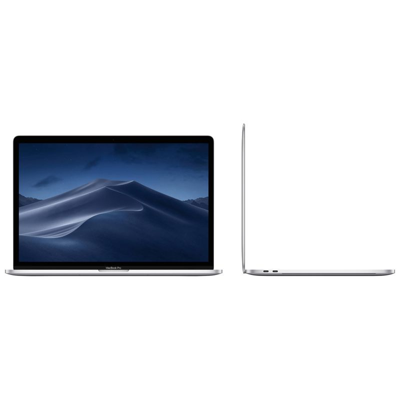 "Apple MacBook Pro 2019 Intel Core i7 2.6GHz, 16GB, SSD 256GB, Radeon Pro 4GB, Touch Bar, Retina 15,4"" - Prata MV922"