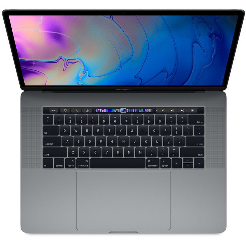 "Apple MacBook Pro MR942 - Core i7, 16GB, SSD 512GB, tela 15"", Touch Bar - Cinza Espacial,  Meados 2018"