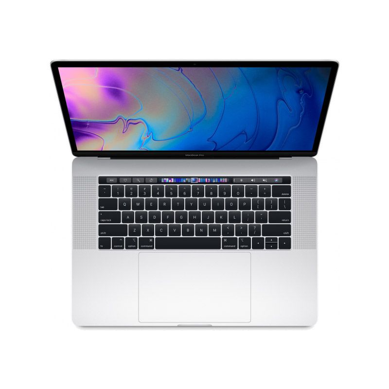 "Apple MacBook Pro MR972 - Core i7, 16GB, SSD 512GB, tela 15"", Touch Bar - Prata,  Meados 2018"