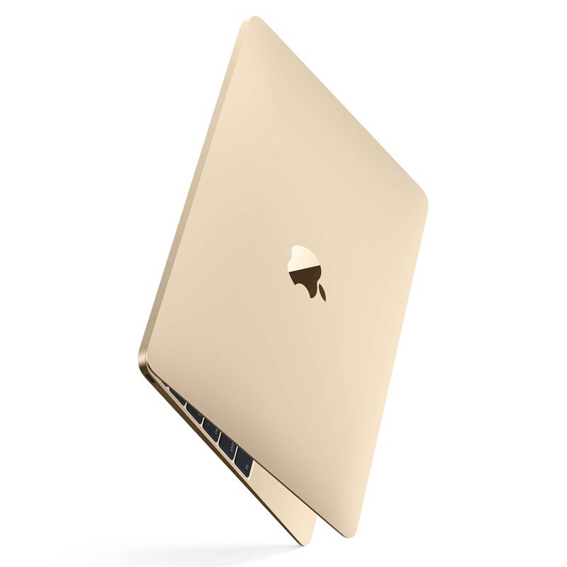 "Apple MacBook Retina 2018 Gold - Intel Core M3, 8GB, SSD 256GB, Force Touch, Tela 12"" Retina - MRQN2 Dourado"