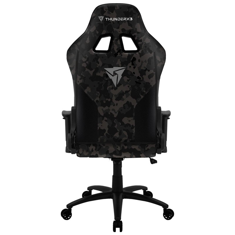 Cadeira Gamer BC3 Black Hawk ThunderX3 Camuflado cinza