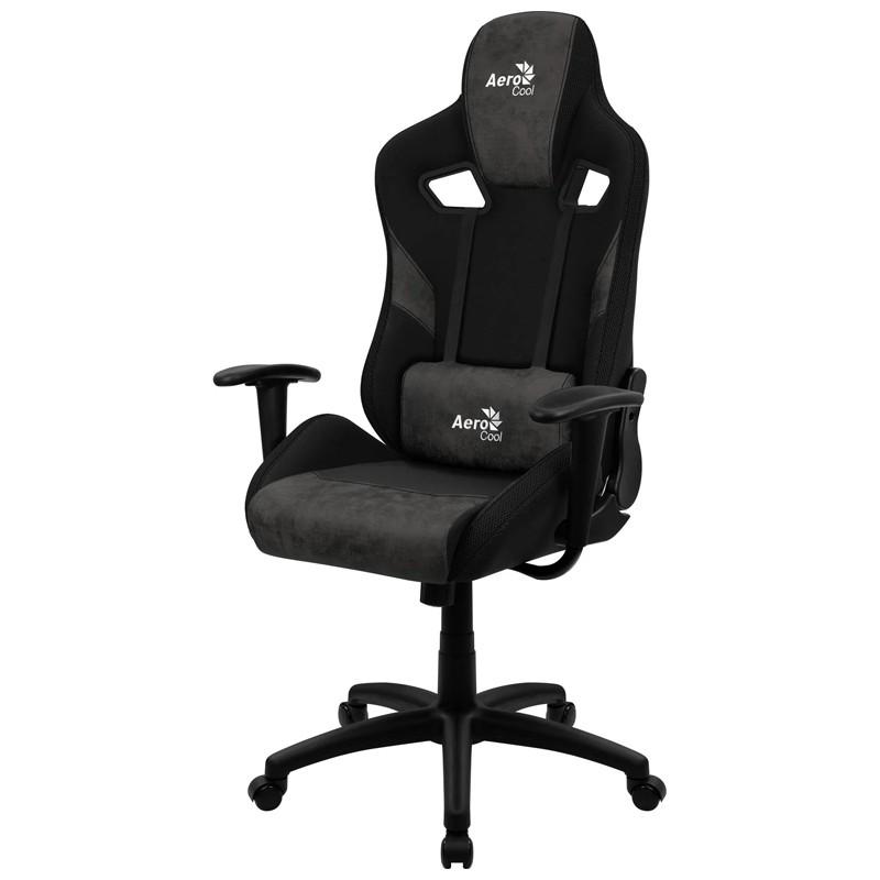 Cadeira Gamer Count Iron Black Aerocool Preta