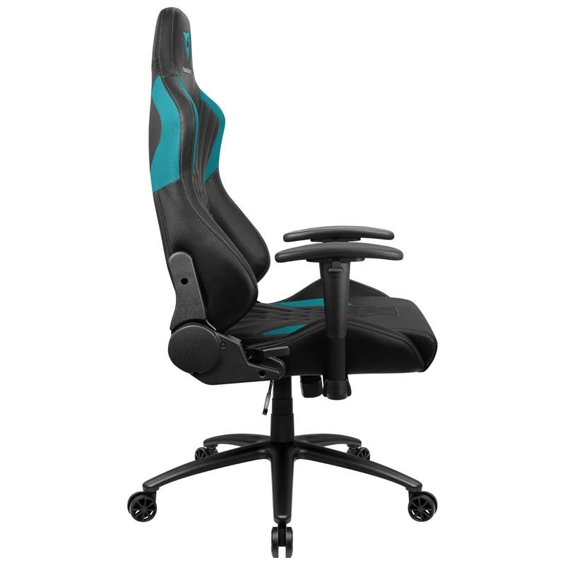 Cadeira Gamer DC3 Preto/Ciano ThunderX3