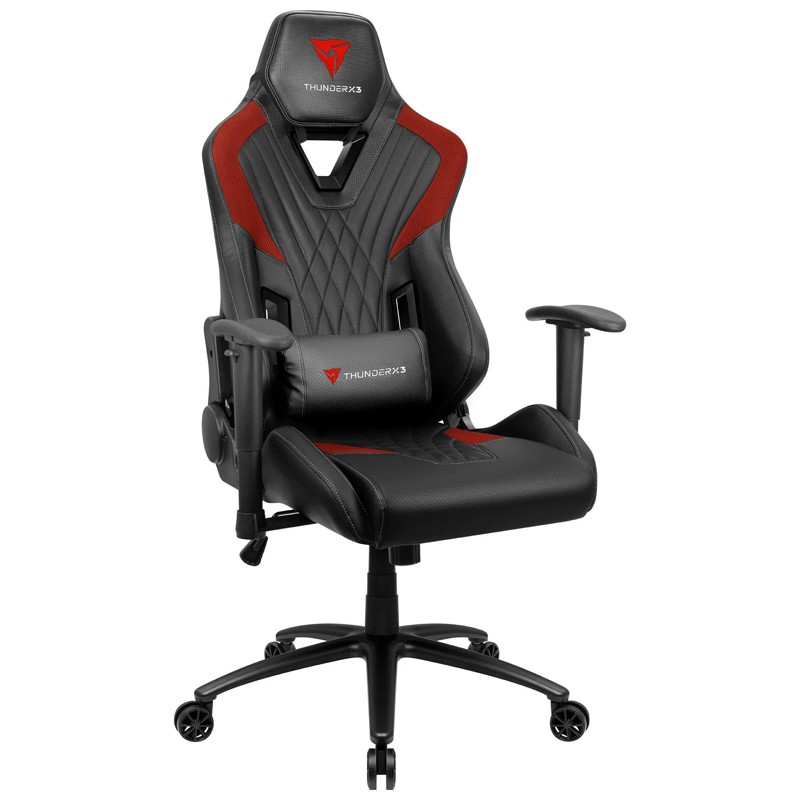 Cadeira Gamer DC3 Preto/Vermelho ThunderX3