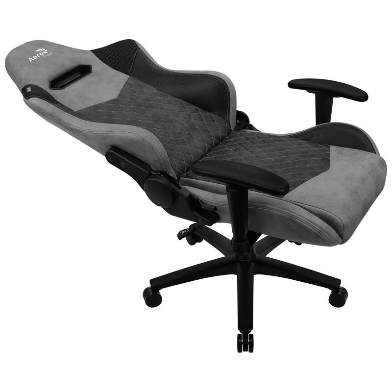 Cadeira Gamer Duke Ash Black Aerocool Cinza/Preto
