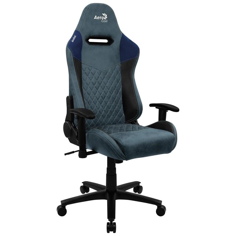 Cadeira Gamer Duke Steel Blue Aerocool Cinza/Azul