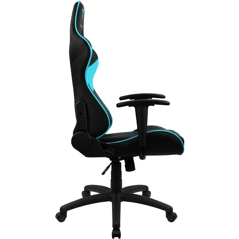 Cadeira Gamer EC3 Preta/Cyan ThunderX3