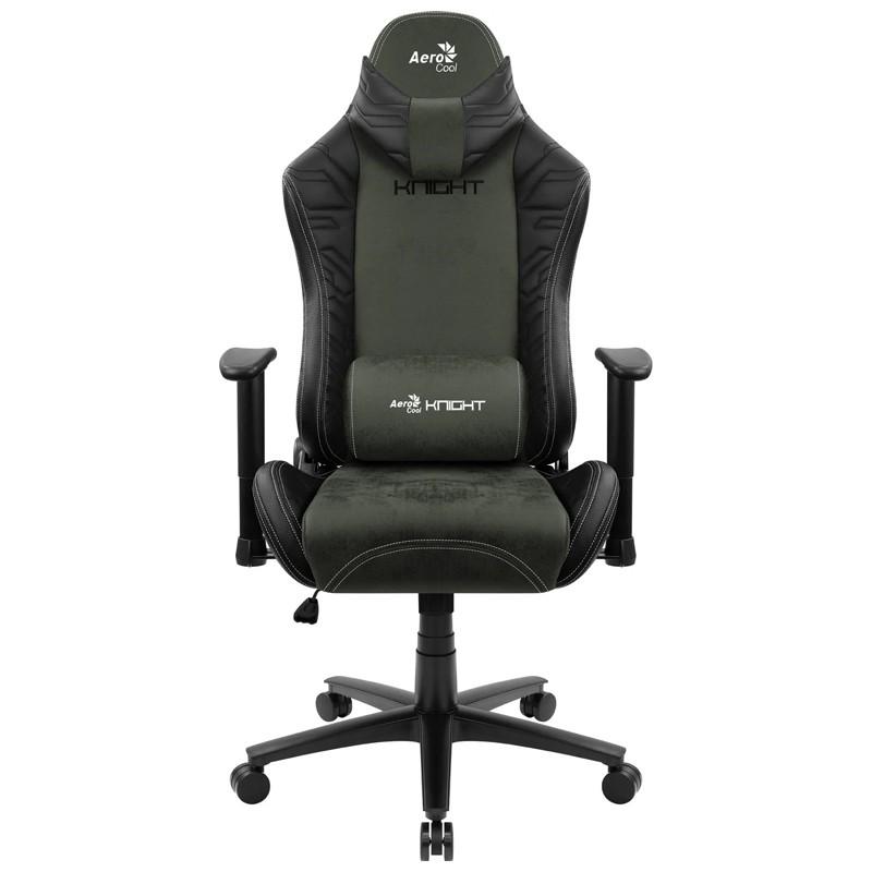 Cadeira Gamer Knight Hunter Green Aerocool Preta/Verde