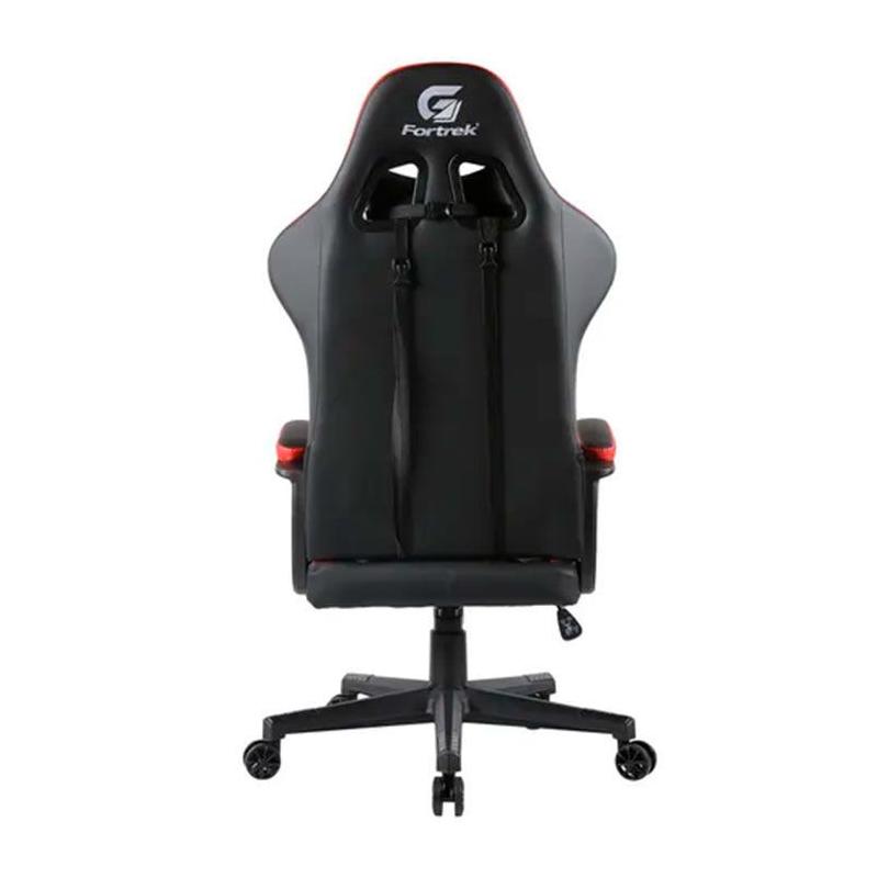 Cadeira Gamer Vickers Preto/Vermelho Fortrek