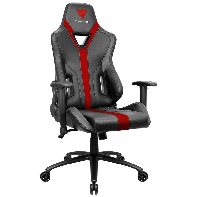 Cadeira Gamer YC3 Preto/Vermelho ThunderX3