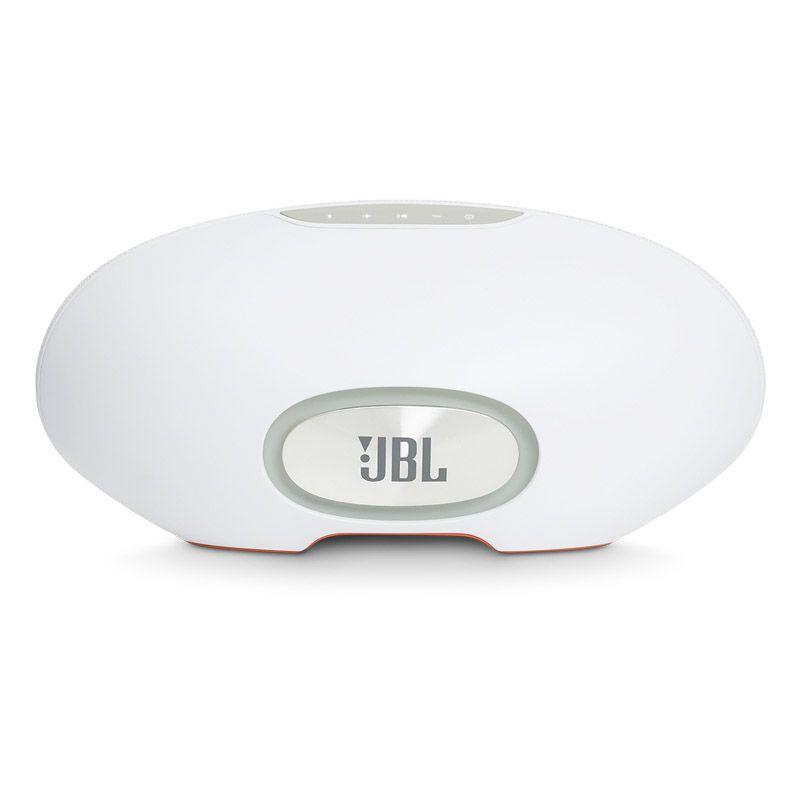 Caixa de Som JBL Playlist 150 – Ativado por voz, Assistente Google, Bluetooth, Wifi - Branca