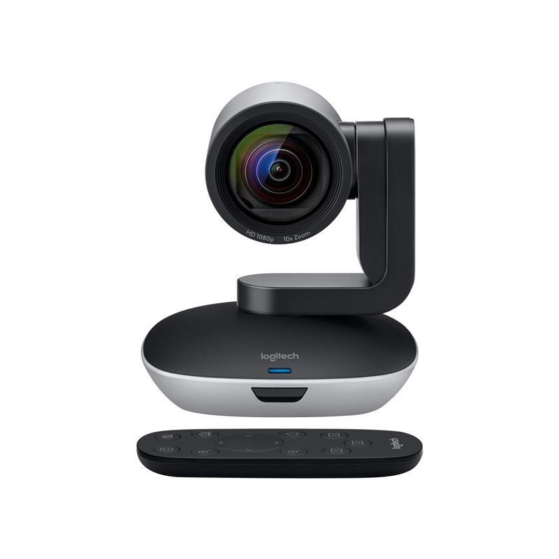 Câmera de Vídeo Conferência Logitech PTZ PRO 2 - HD, Panorâmica de 260 graus