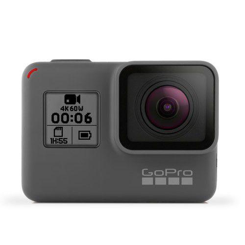 Câmera GoPro Hero 6 Black - 12MP, Ultra HD 4K, Wifi, Bluetooth, Resistente à água até 10m -  CHDHX-601