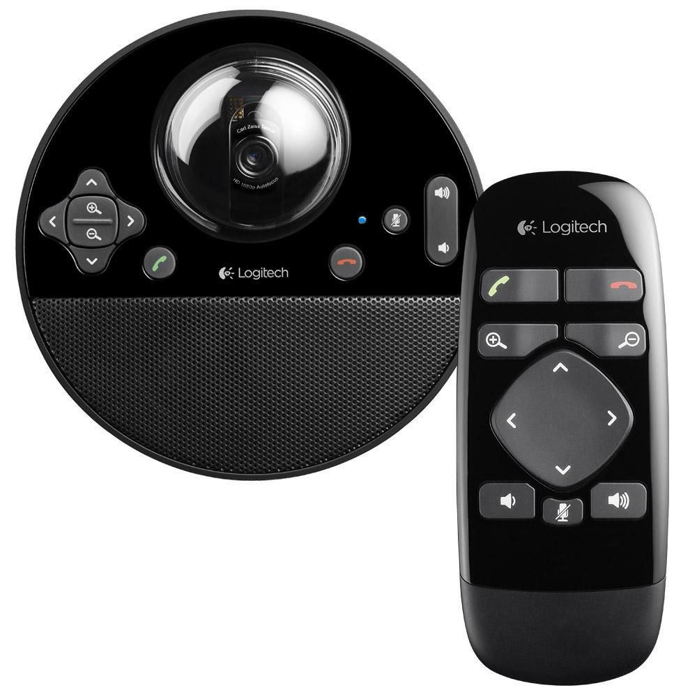 Câmera para Video conferência Logitech BCC950 - HD (1080p) 30fps , Viva-voz, Full-duplex - 960-000866