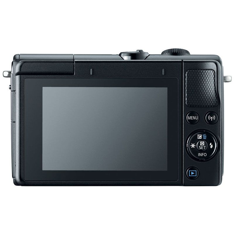 "Canon EOS M100 Mirrorless + Lente 15-45mm STM - 24.2MP, Tela de 3.0"" Touch, Full HD"