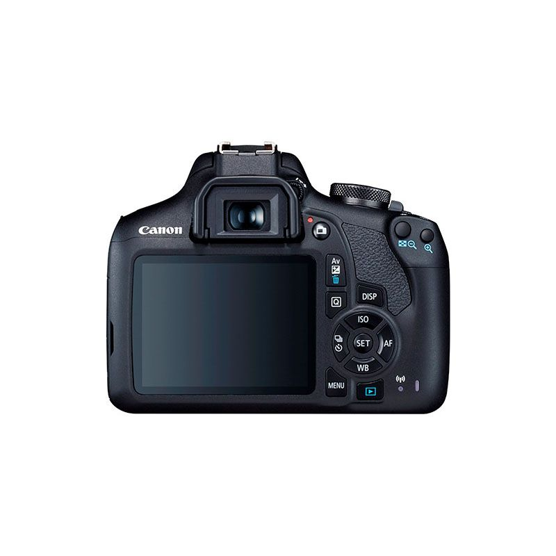 Canon EOS Rebel T7 + Kit EF-S 18-55mm IS II BR - 24.1MP