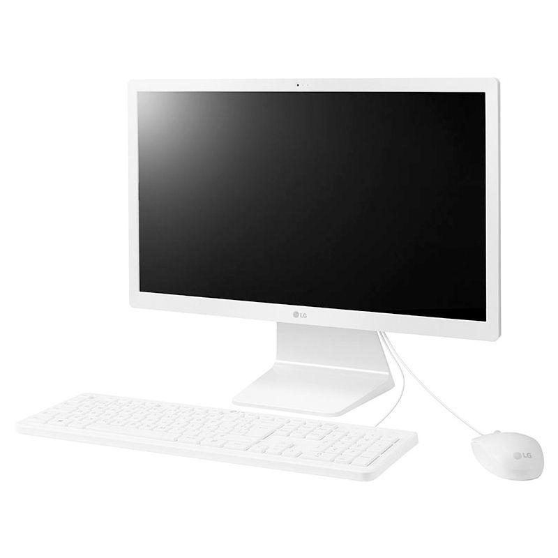 """Computador All in One 22"""" LG - Intel Quad-core, 4GB, HD 500GB, Tela 21,5"""" Full HD, Windows 10 AiO"""
