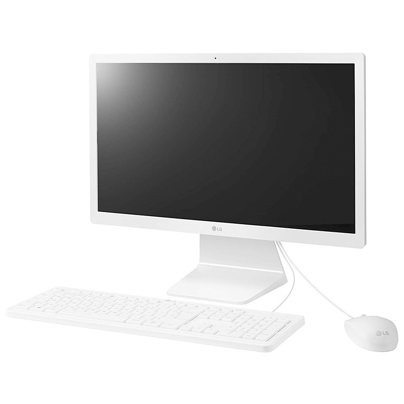 "Computador All in One LG 22V280 Intel Quad-core, 8GB, SSD 240GB, Tela 21.5"" Full HD, Windows 10 AiO"
