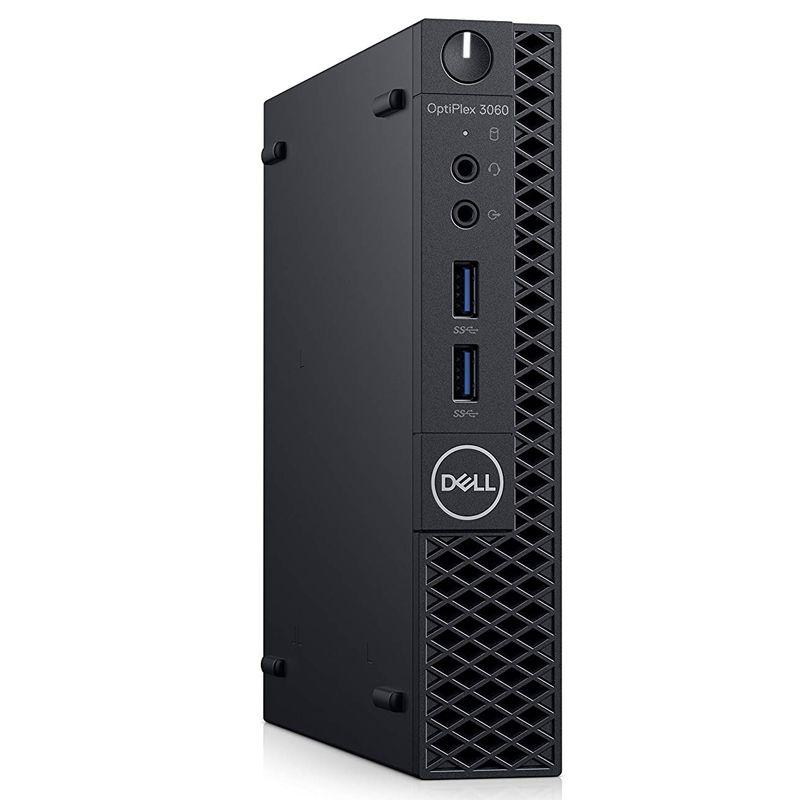 """Computador Dell OptiPlex 3060 Micro - Intel Core i3 8ªG, 8GB, HD 500GB, Monitor 18.5"""", Teclado e Mouse"""