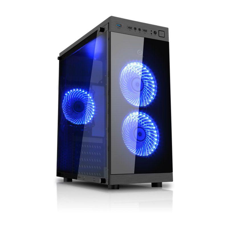 Computador Gamer AMD Athlon 200GE - HD 1TB, 8GB, GeForce Radeon RX550 de 2GB, Fonte 650W