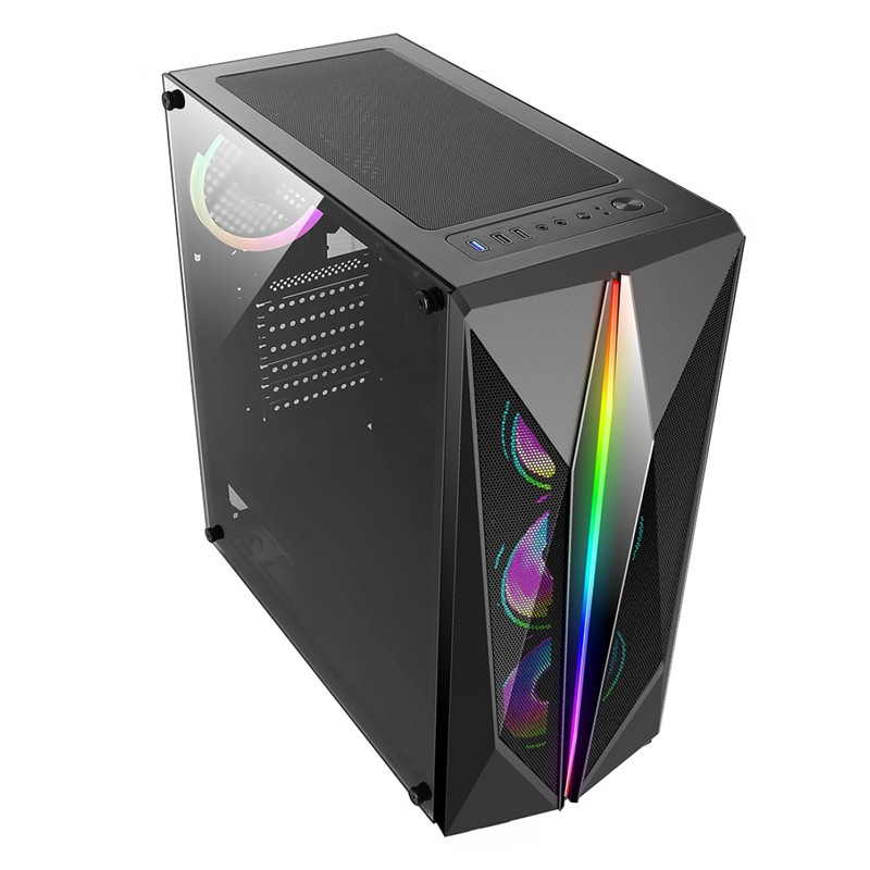 Computador Gamer - AMD Ryzen 5600X, Memória 16GB 3000MHz, SSD 480GB, Geforce GTX 1660 Super 6GB, Fonte 500W 80-Plus