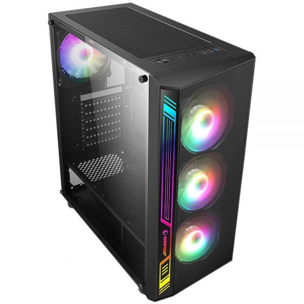 Computador Gamer - Amd Ryzen 5 3600, Memória 16Gb, HD 1TB, RX580 8GB, Fonte 600W 80 plus