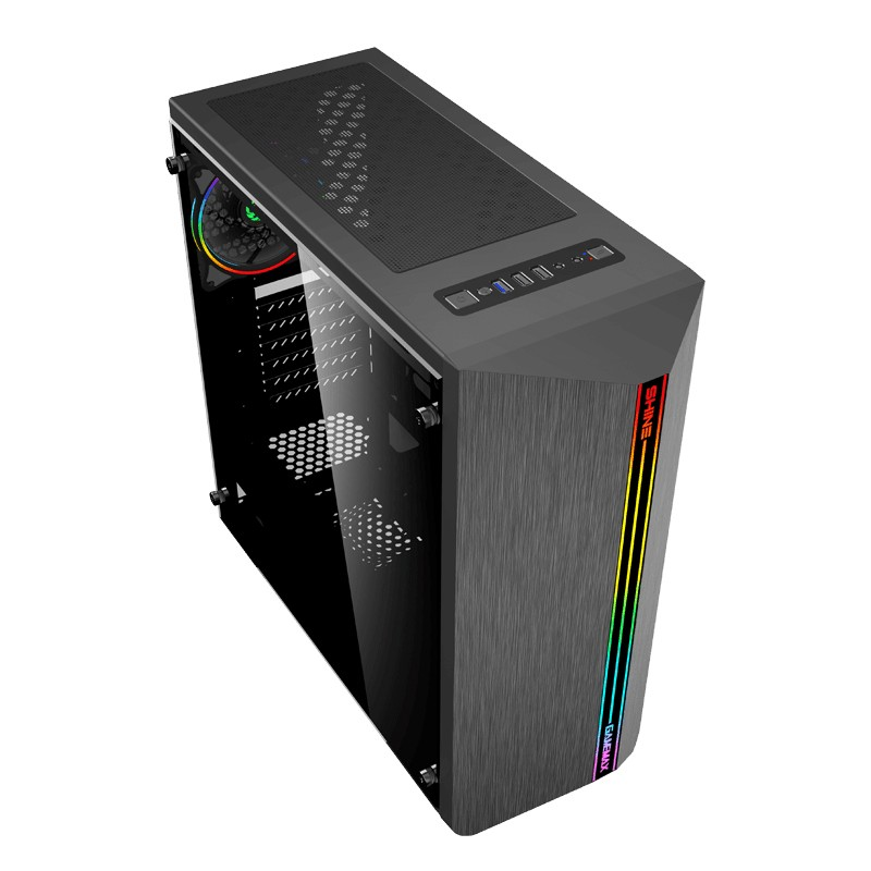 Computador Gamer - Amd Ryzen 5 3600, Memória 8Gb, HD 1TB, GTX1660 Super de 6GB, Fonte 500W 80 plus