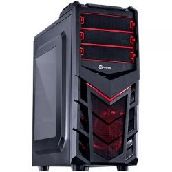 Computador Gamer AMD X4 FX4300 QUAD CORE - Memoria 4GB, HD 1TB, Placa de Video RX550, Fonte 650W