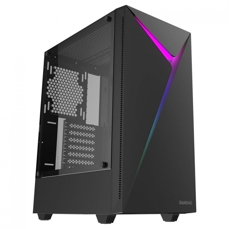Computador Gamer - Intel Core i3-10100f 10ª Geração, 8GB 2666Mhz, HD de 1TB, Placa de Vídeo GTX1650  Super 4GB, Fonte 500W Real