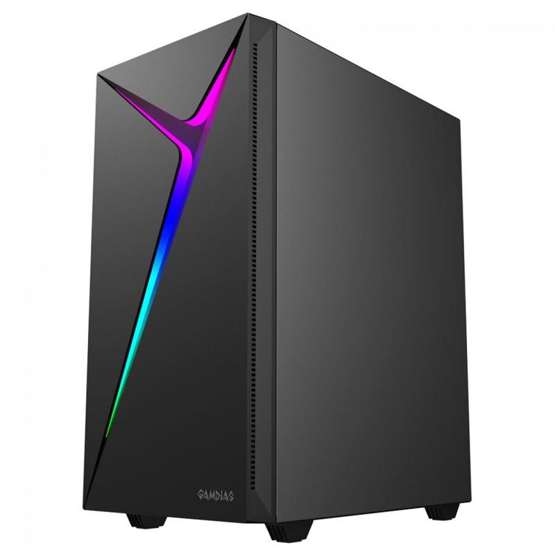 Computador Gamer - Intel Core i3-10100f 10ª Geração, 8GB 2666Mhz, HD de 1TB, Placa de Vídeo RX580 8GB, Fonte 600W Real