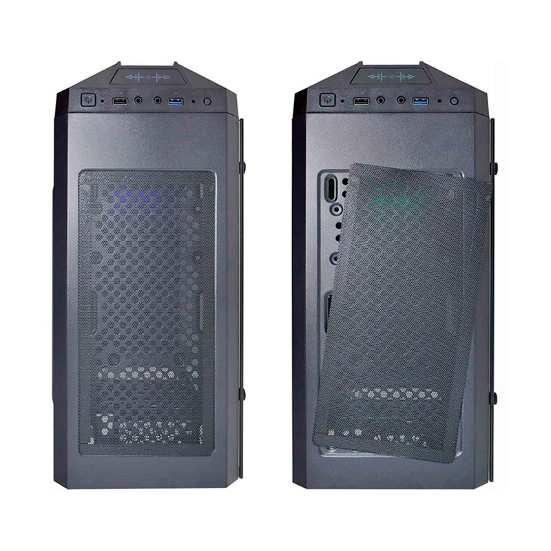 Computador Gamer - Intel Core i3-9100F 9ª Geração, 8GB DDR4, SSD 240GB, Placa de Vídeo  Geforce GTX750Ti, Fonte 400W Real