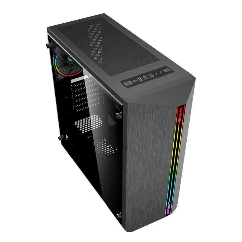 Computador Gamer - Intel Core i5-10400F 10ª Geração, 8GB 2666Mhz, HD de 1TB, Placa de Vídeo RX5500 XT 4GB, Fonte 500W Real